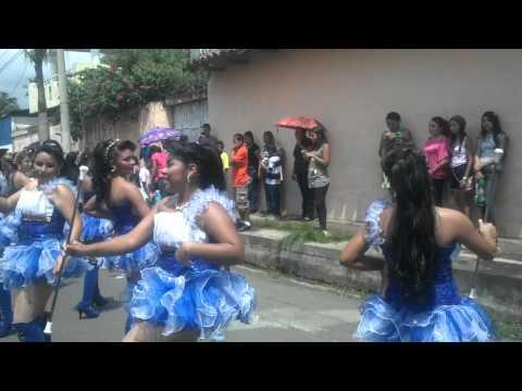 Desfile 15SEP13, Santa María, Usulutan