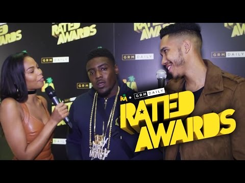 Mist talks about performance nerves & nominations at Rated Awards