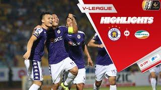Highlights | Hà Nội FC - Viettel | Trọng Hoàng nhận thẻ đỏ, Quang Hải ghi siêu phẩm | VPF Media