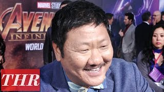 Benedict Wong on 'Avengers: Infinity War' Premiere Red Carpet | THR