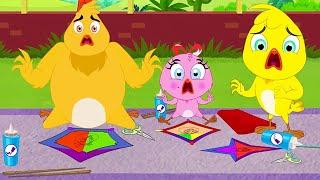 Eena Meena Deeka | Luta de pipa | Desenhos animados para crianças Videos For Kids