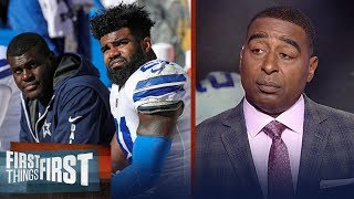 Cris Carter reacts to the latest ruling in Ezekiel Elliott's suspension | FIRST THINGS FIRST