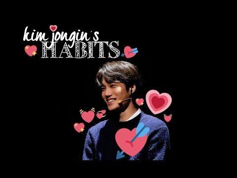 KIM JONGIN'S HABITS!!