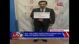 NTVL: Breaking News: Sen. Trillanes, dadalhin sa Makati RTC mula sa Makati police station