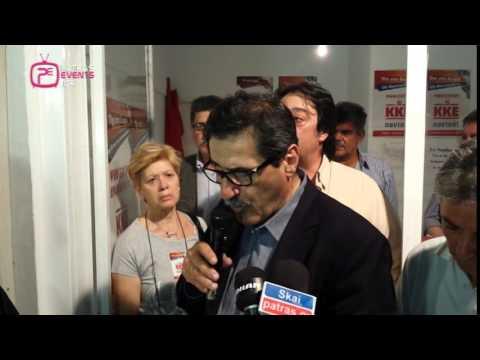Πάτρα: Δηλώσεις Κώστα Πελετίδη μετά την ανακοίνωση της εκλογής του 25-05-14