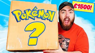 Unboxing a £1500 VINTAGE Pokemon Cards MYSTERY BOX!