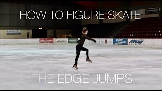 How To Figure Skate ❤ THE EDGE JUMPS (SALCHOW & LOOP) + JUMP MISTAKES
