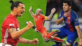 Những tình huống ăn vạ hài hước nhất trong bóng đá