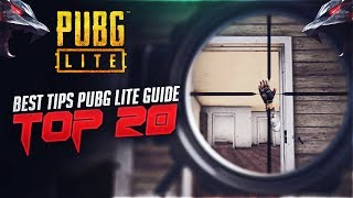 Top 20 Best Tips and Tricks PUBG LITE Guide (PC)