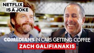 Zach Galifianakis Tricked Jerry Seinfeld Into Doing Between Two Ferns | Netflix Is A Joke