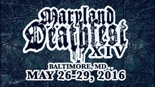 """THE HAUNTED """"Live in Maryland Deathfest XIV"""" May./27/2016"""