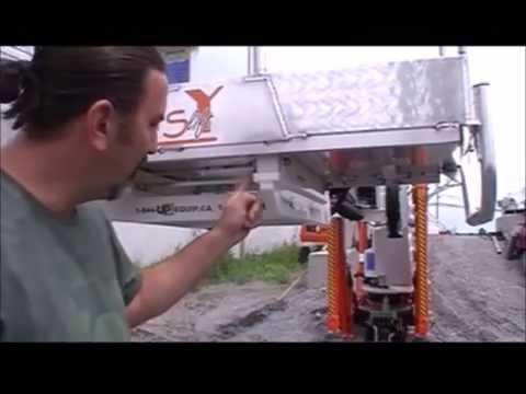 Basket removal on Easy Lift 70-36AJ