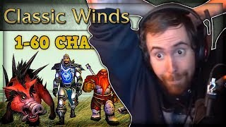 "Asmongold Reacts to ""Can you level 1-60 Killing Only Boars?"" by Classic Winds"