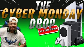 CYBER MONDAY is ALMOST here   Let's Secure the 👜   PS5 & XBOX RESTOCK LIVE STREAM (LINKS)