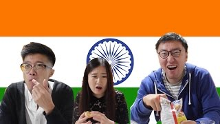 Chinese Try Indian Snacks For The First Time|Taste testing
