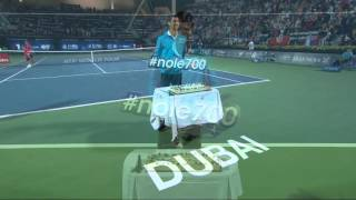 Djokovic Records 700th Career Tour-Level Win