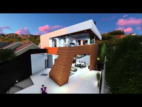 3D Rendering by Amit Apel Design Inc. / Shoreham Project / Los Angeles, CA