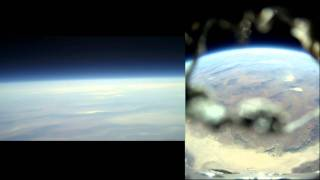 Amateur Rocket Launch to 121,000' at Mach 3 On-board Video - Qu8k - Near Space Launch