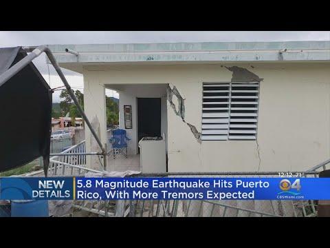 Earthquake Shakes Puerto Rico