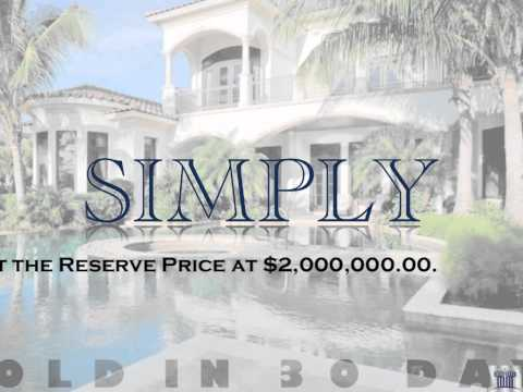 Selling Luxury Real Estate at Auction