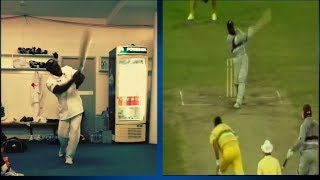 The Best Imitation of Sir Viv Richards   Sports Tak   Michael Carberry