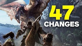 Monster Hunter World: 47 Changes Only Fans Will Notice
