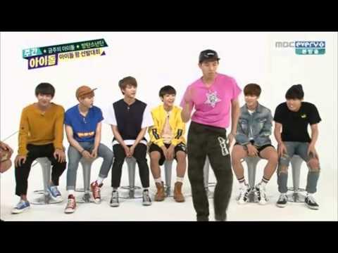 150617 BTS Funny Dance @ Weekly Idol