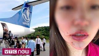 Hai nữ tiếp viên hàng không VASCO lao vào đánh nhau như phim