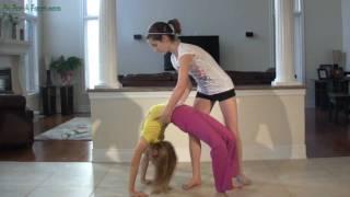 Back Stretches Back Bends - Back Walkovers Backbends Tutorial