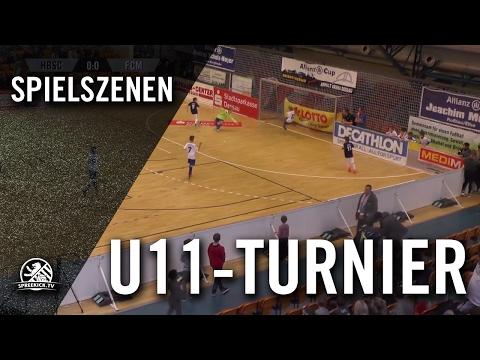 Hertha BSC - 1. FC Magdeburg (U11 E-Junioren, Zwischenrunde, Allianz Cup 2017) - Spielszenen | SPREEKICK.TV