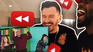 REACTING TO YouTube Rewind: The Shape of 2017