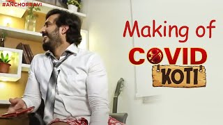 Making of Covid Koti: Anchor Ravi behind the scenes video..