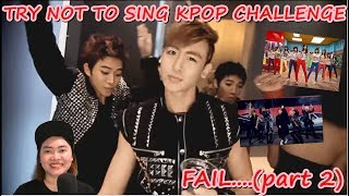 TRY NOT TO SING | K-POP CHALLENGE | FAIL?? (part 2) | (INDONESIA)