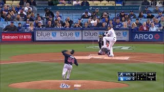 Dodgers vs Braves Highlights | 5/7/19