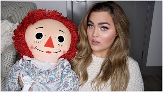 My SCARY New Doll + Is My Apartment Still Haunted? Storytime & GRWM