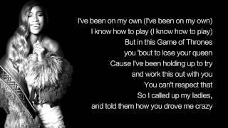 Sevyn Streeter - Shoulda Been There ft. B.o.B (LYRICS)