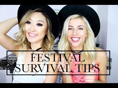 FESTIVAL SURVIVAL TIPS WITH EVELINA