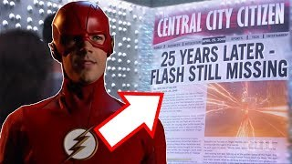 What did the 2049 Newspaper say? Mysteries Revealed! - The Flash Season 5