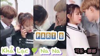 Khả Lạc - Na Na cặp đôi đáng yêu phim học đường #8|  Kha Lac - Na Na lovely school film couple
