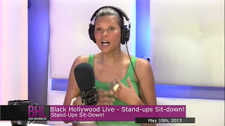Stand. Up. Sit. Down. w/Aida Rodriguez | May 23rd, 2013 | Black Hollywood Live