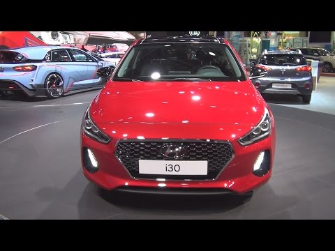 Hyundai i30 Active 1.6 CRDi 136 DCT-7 (2017) Exterior and Interior in 3D