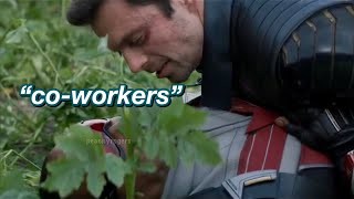 """bucky and sam being iconic """"co-workers"""" (tfatws ep. 2)"""
