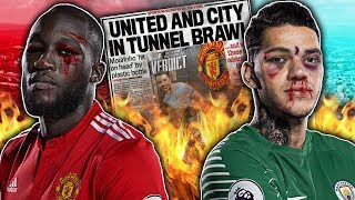 BREAKING: Manchester United & City Players To Face Bans For SECRET Derby Day Fight?!   W&L
