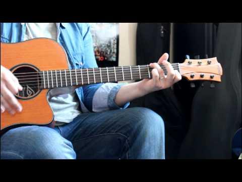 Coldplay - Fix You guitar cover - Touns le Caldoche