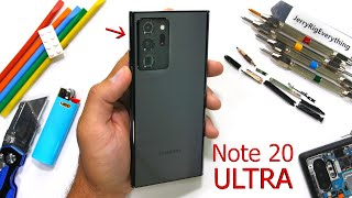 Galaxy Note 20 Ultra Durability Test - What is 'Victus' Glass?