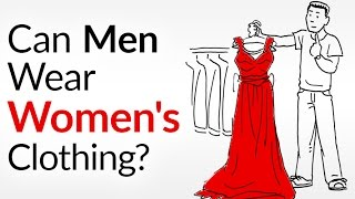 Can A Man Wear Women's Clothes?  Seriously... 6 Piece Made For The Ladies You Can Wear!