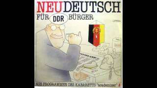Neudeutsch für DDR- Bürger
