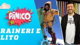 Mix Palestras   O alpinista Rodrigo Raineri no Pânico
