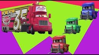 Learn colors for kids Shifty Drug Hauler Not Chuck - 아이들을 위한 애니메이션 |  아이를위한 노래