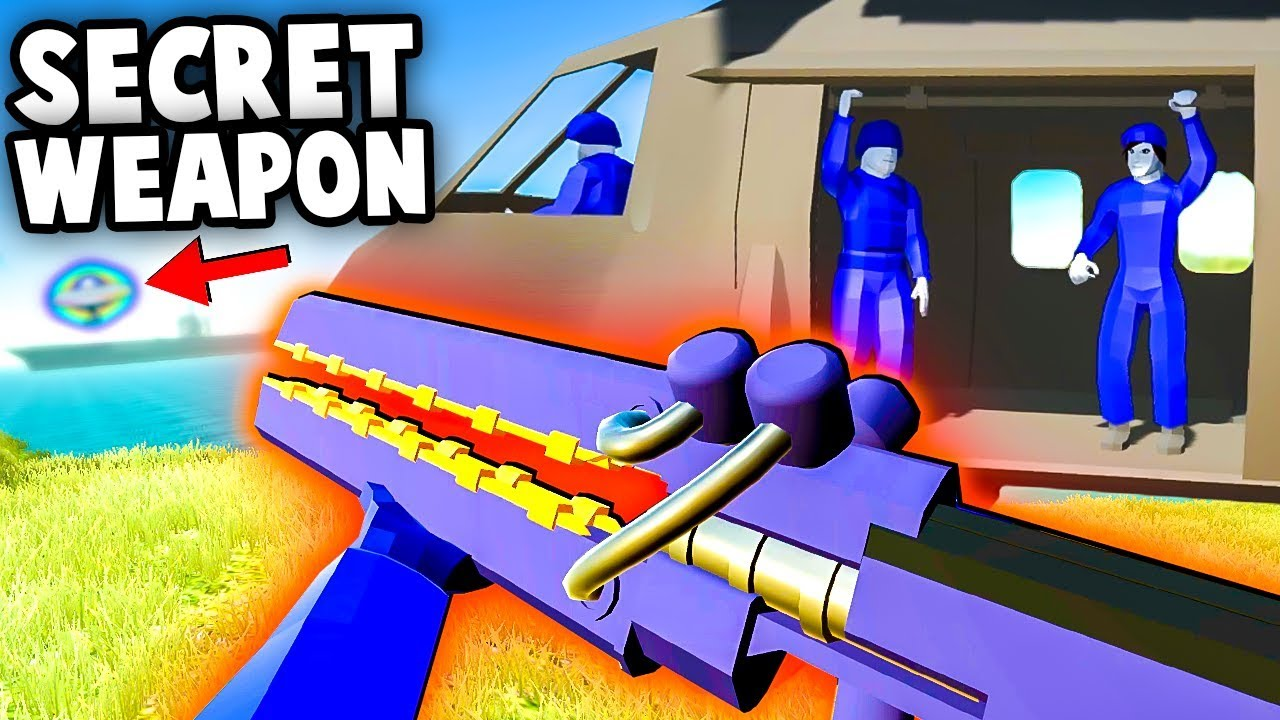 NEW Secret Uber Weapon, Secret Cutscene, Conquest Mode! (Ravenfield